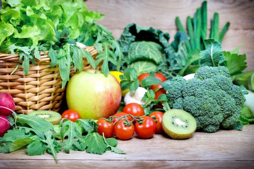 grøntsager, frugt, bær