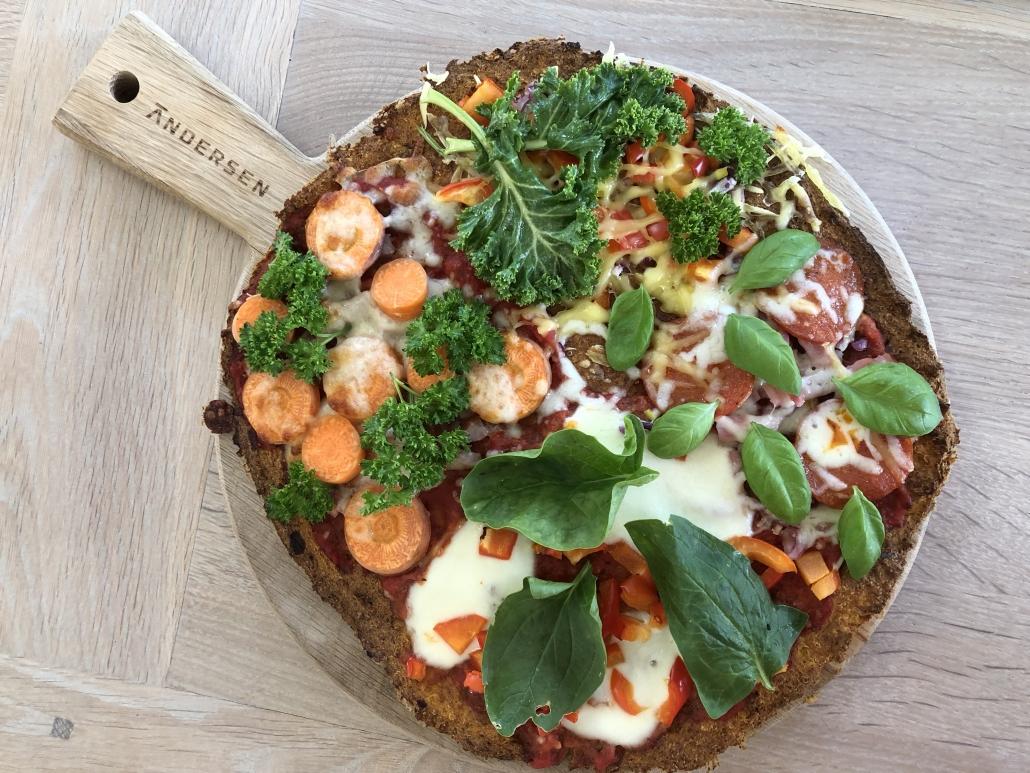 pizza glutenfri græskar