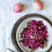 Rødbede knoldselleri salat